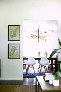 Eclectic Mid Century Dining Room - How to Switch Things Up without buying anything