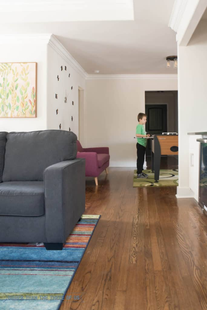 Oklahoma City Rental with a foosball table. Perfect getaway for the family in OKC.