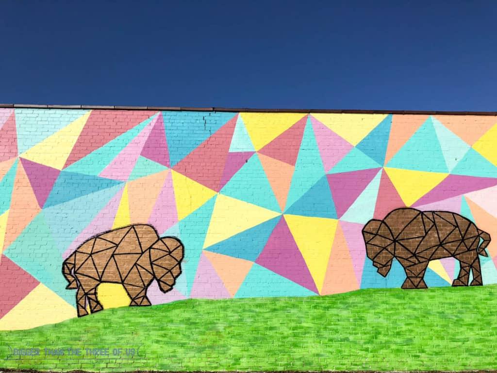 Things to do in OKC - Tour the graffiti art around town