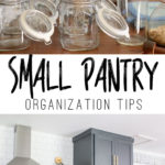 How to keep a small pantry organized!