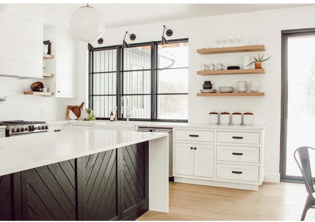 Heavy Duty Kitchen Shelves