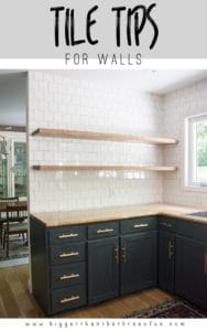Tiling Tips for Walls