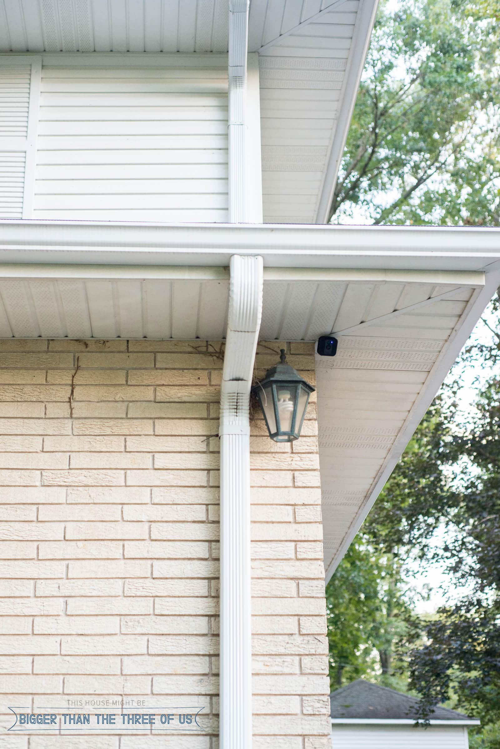 Blink Home Security: Simple and easy install and no monthly fees. Come over and see how we are using our newest security upgrade! #exteriorsecurity #homesafety
