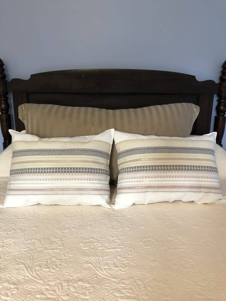 Bedding Makeover by Cindy