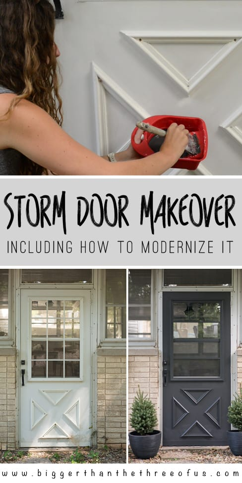 Update a Storm Door: Updating the Grille on a storm door and how to modernize it with HANDyPaint