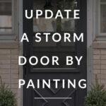 painting a storm door