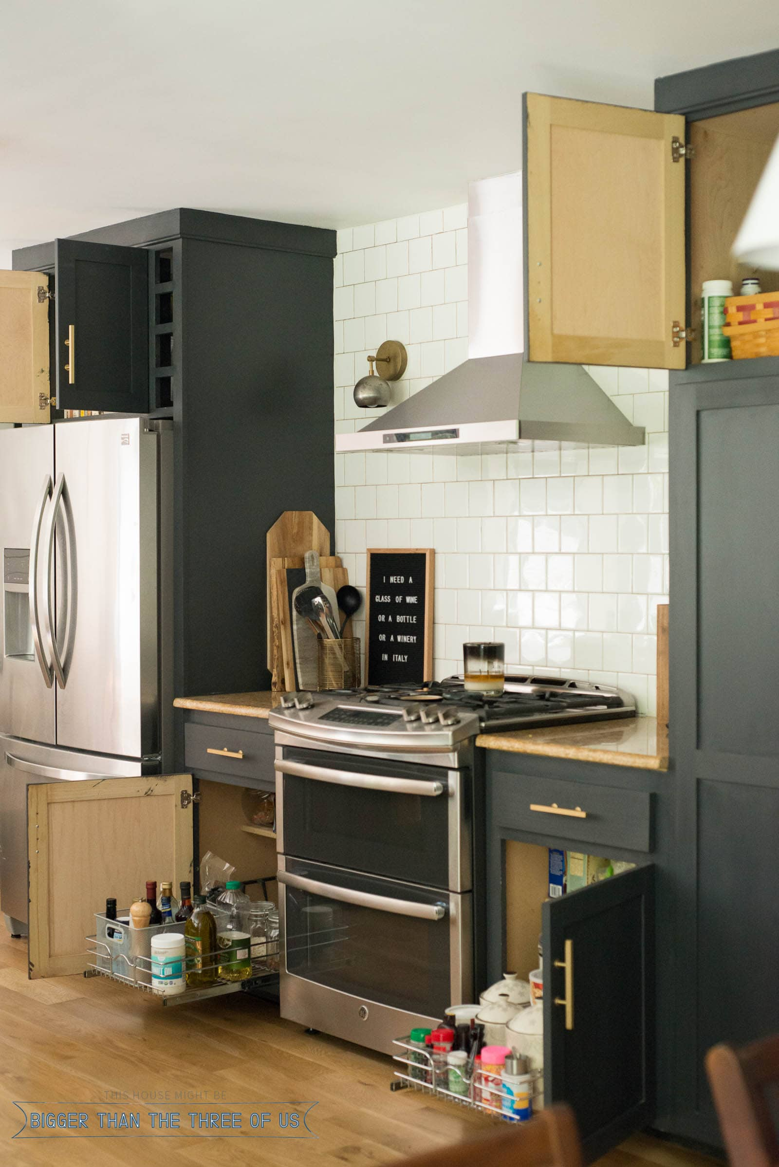Need Help With Organizing Bottom Kitchen Cabinets? I Just Organized Mine  And I Love The