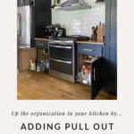 how to add pull out cabinet shelves
