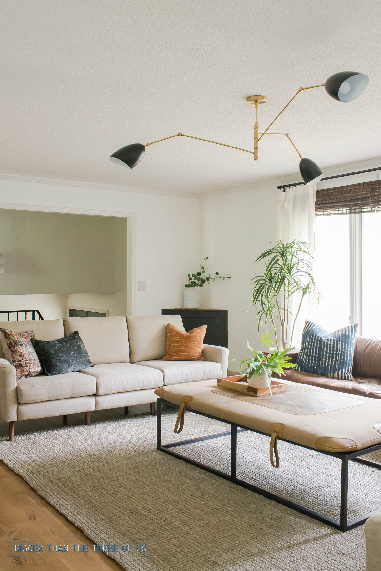 Mid Century Modern Living Room Lighting