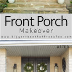 Before and After Front Porch Makeover Photos