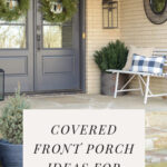 Front door porch ideas