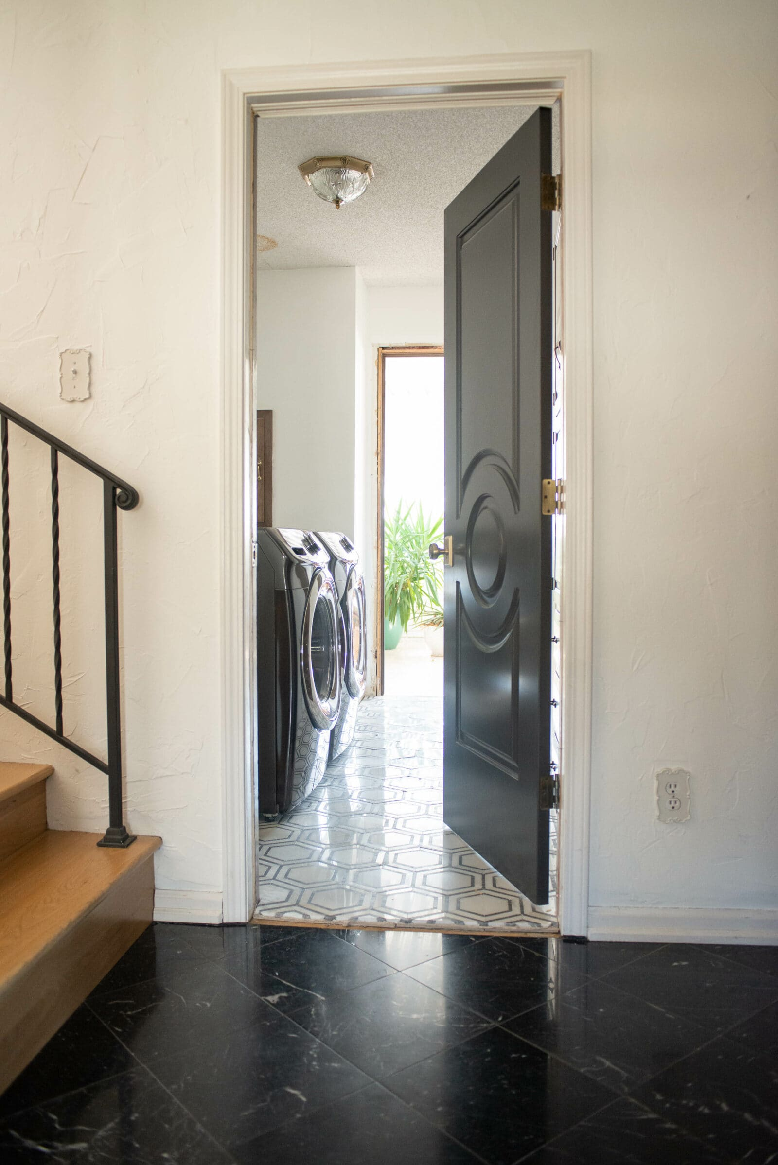 entryway to laundry room