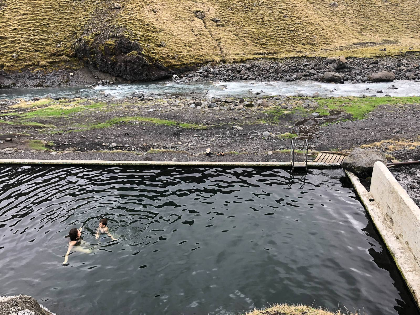 Iceland (Seljavallalaug) - Family Travel to Iceland.