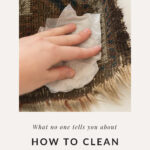 DIY cleaning a rug
