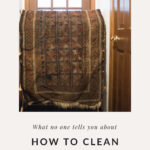 At home rug cleaning