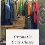 BEFORE Coat Closet Makeover Picture