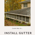 Outdoor project for DIYers: Installing gutter guards