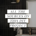 Sources on bathroom project