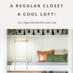 closet bed diy