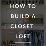 closet nook DIY