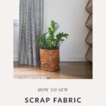 DIY Fabric Planter