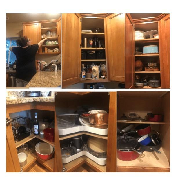 unorganized kitchen