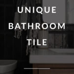Unique bathroom tile