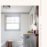 transitional bathroom renovation