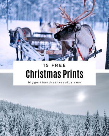 Christmas Art Prints
