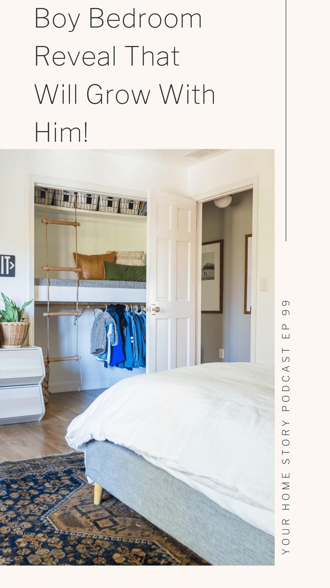 Boy bedroom with loft