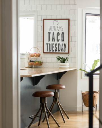 Taco Tuesday kitchen art for sale