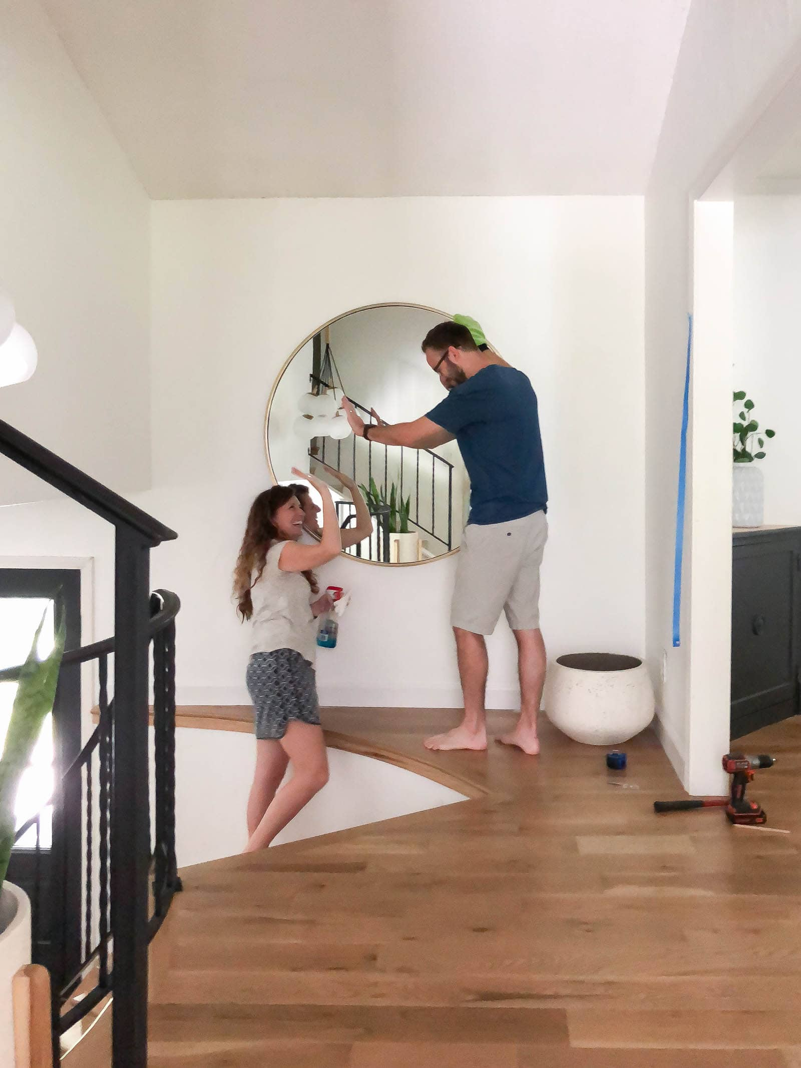 working with your spouse on DIY