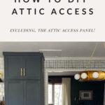 Skuttle attic access