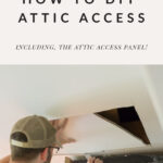 DIY attic access