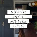 attic scuttle diy