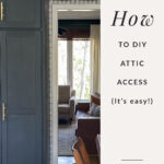 attic access DIY