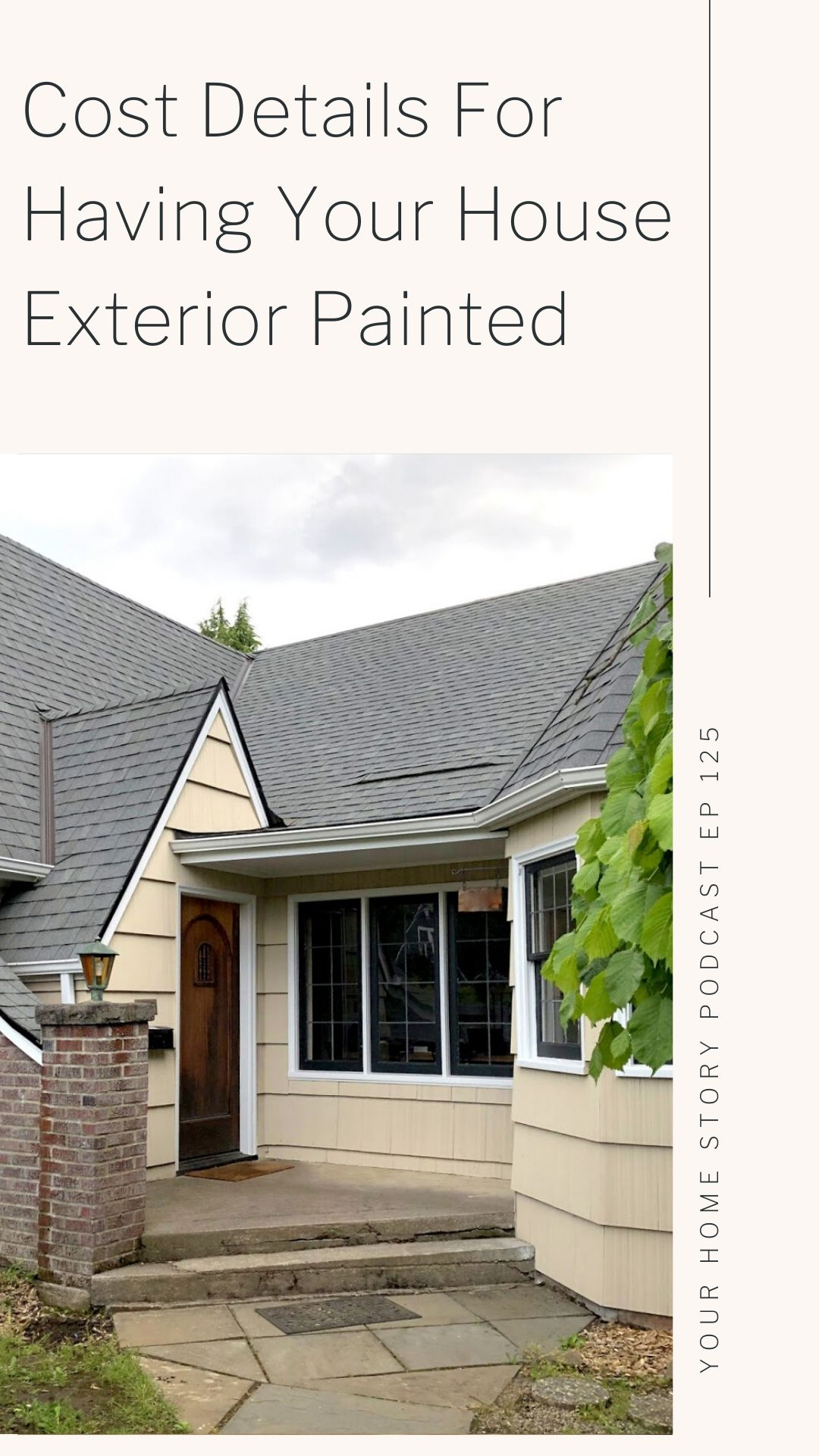 Cost details for house painting
