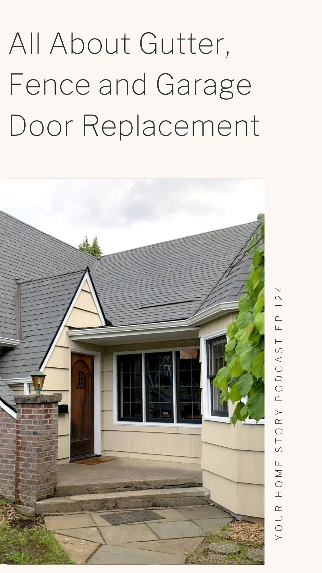 All About Gutter, Fence and Garage Door Replacement