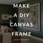 DIY Canvas frame