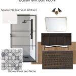 Basement Bathroom Design Plan