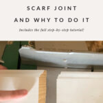 angle of scarf joint