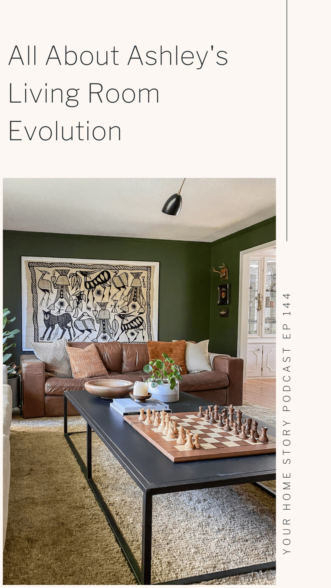 The evolution of the living room