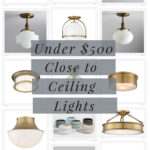 Under $500 flush mount lights