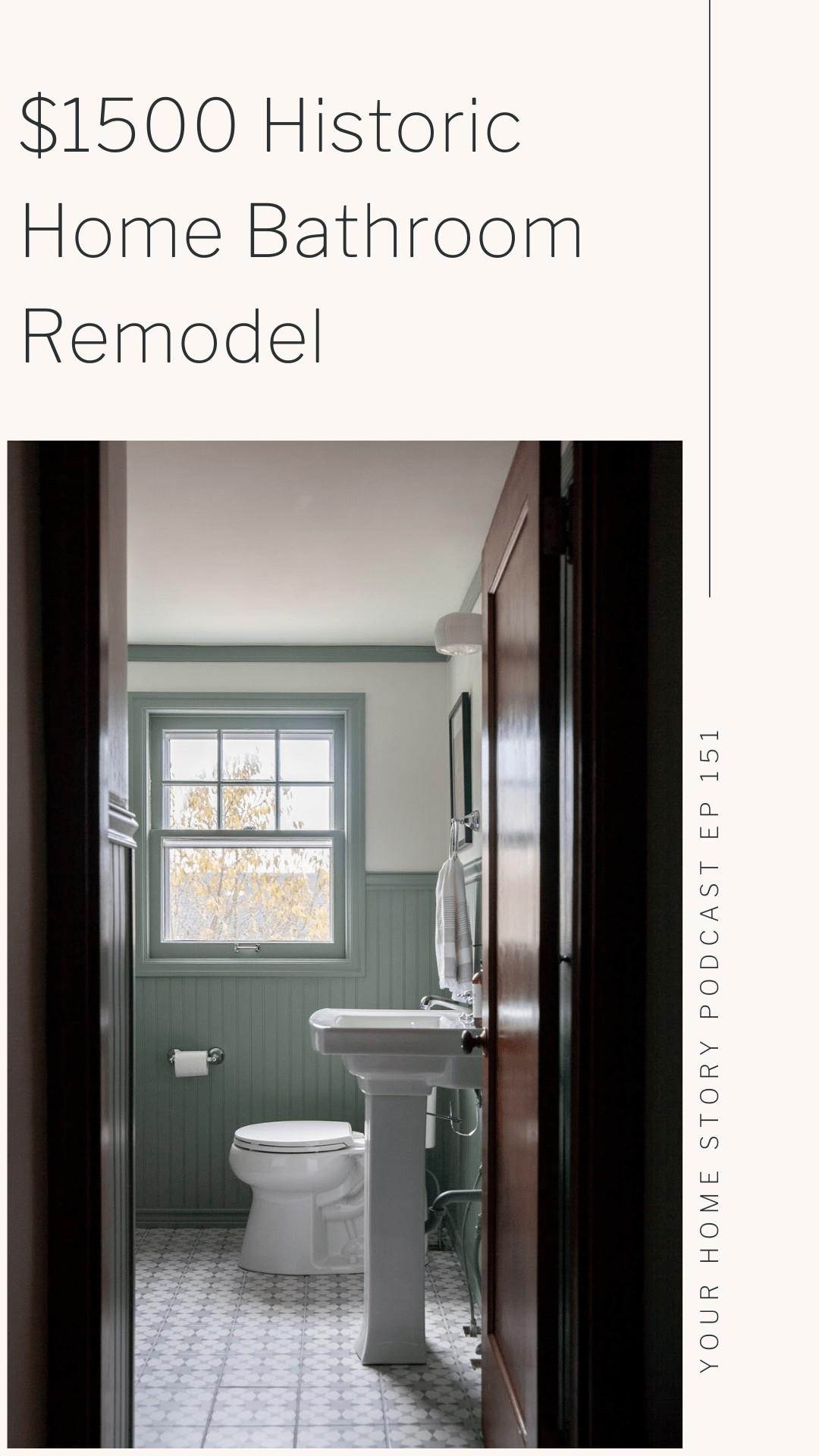 Budget friendly bath remodel