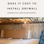 cost to install drywall