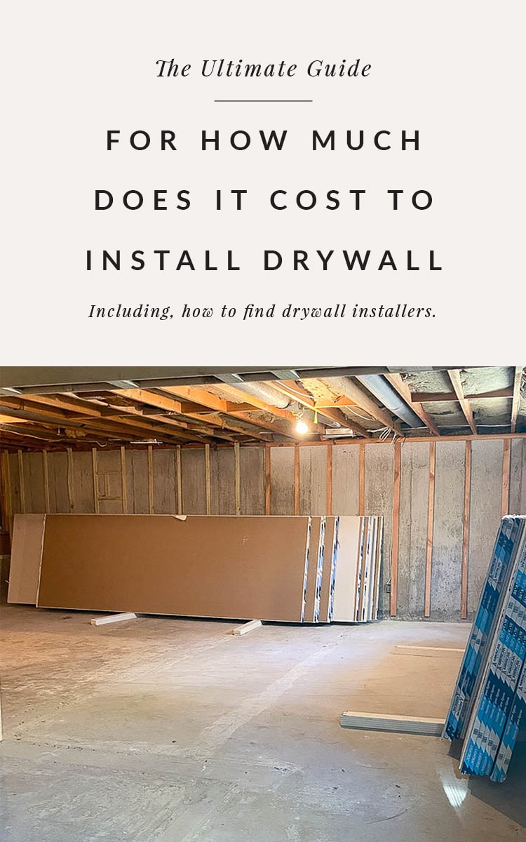 how to find drywall installers