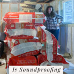 rockwool insulation in basement for sound dampening