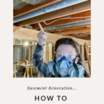 showing how to put in insulation for sound dampening