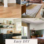 easy art ideas for blank walls with textile art, feather art, bucket list travel art, and more