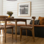 DIY dining banquette bench seat
